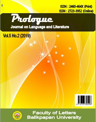 View Vol. 5 No. 2 (2019): Prologue : Journal on Language and Literature