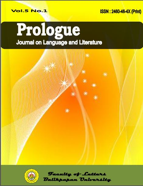 View Vol. 5 No. 1 (2019): Prologue : Journal on Language and Literature